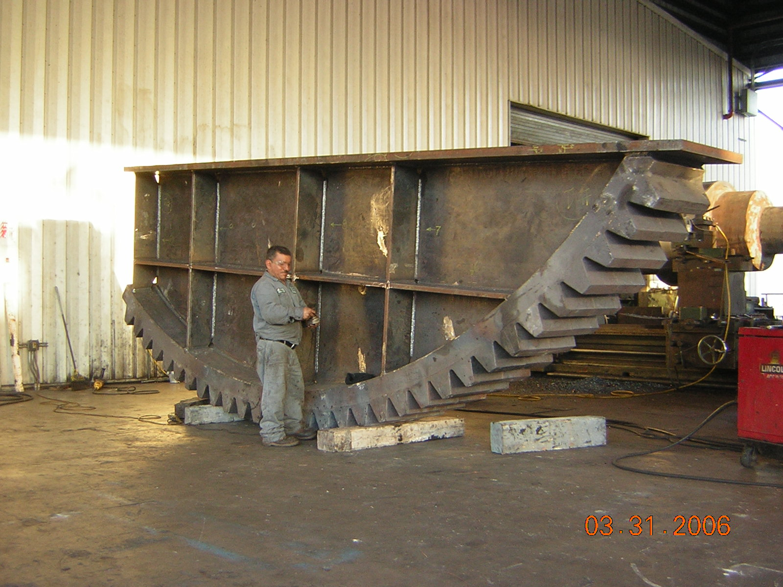 Custom Gearing Heavy Machinery Assembly Testing Pinions